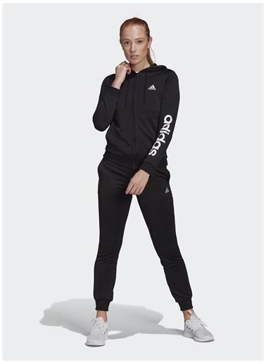 adidas adidas GM5575 W LIN FT TS Kadın EşofmanTakımı Siyah